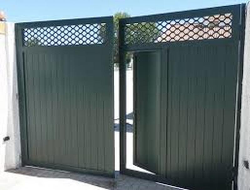 Comprar Portão de Alumínio para Garagem Vila Mazzei - Portão de Alumínio com Motor