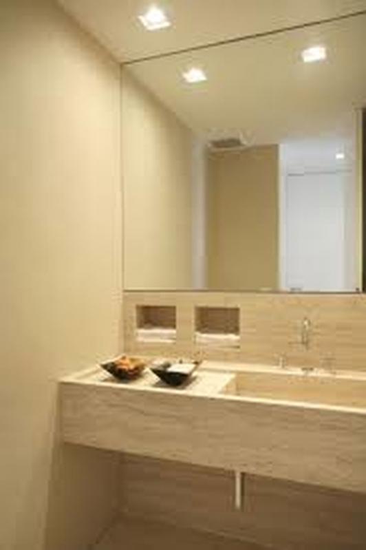 Espelho para Banheiro Limão - Espelho para Apartamento
