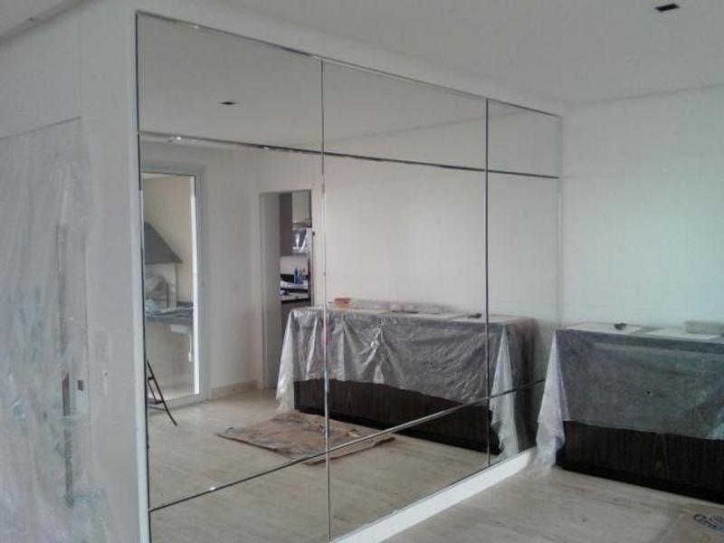 Espelho para Sala de Jantar Preço Parelheiros - Espelho de Chão
