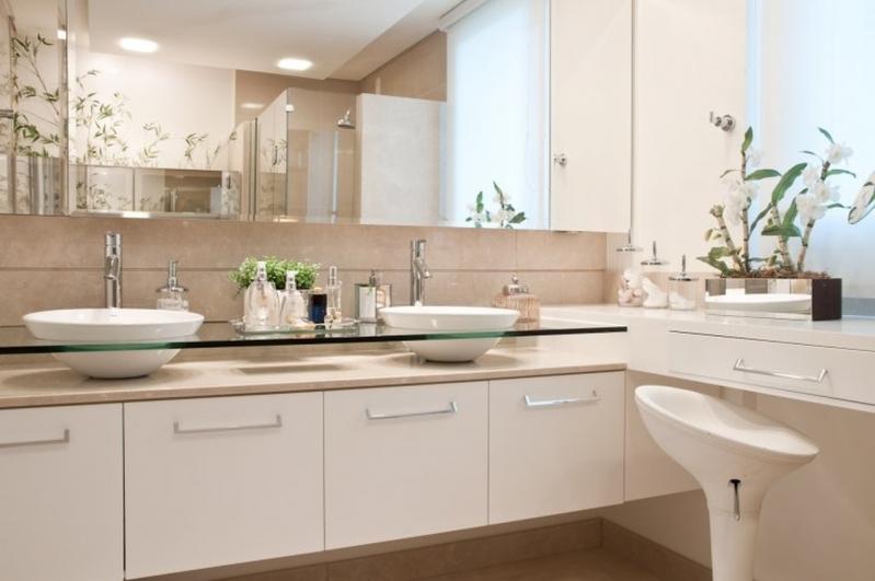 Espelhos para Banheiro Jurubatuba - Espelho para Salão