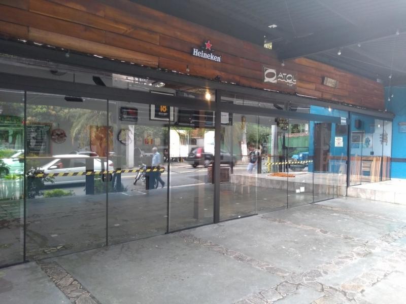 Esquadria em Alumínio Preto Valores Caierias - Esquadria Blindex