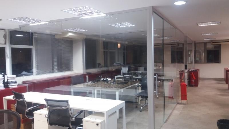 Esquadria para Vidro Temperado Valores ARUJÁ - Esquadria em Alumínio Preto