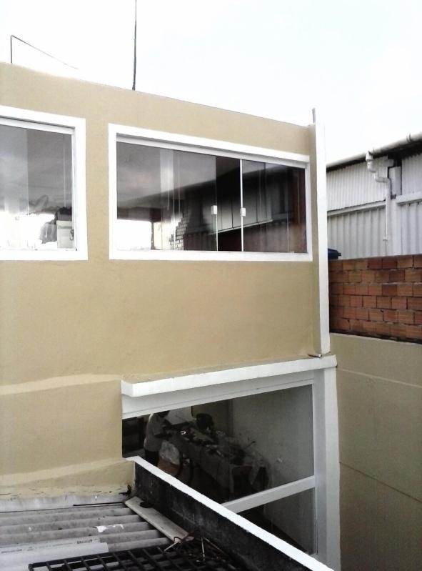 Esquadria para Vidro Temperado Alto da Providencia - Esquadria de Vidro