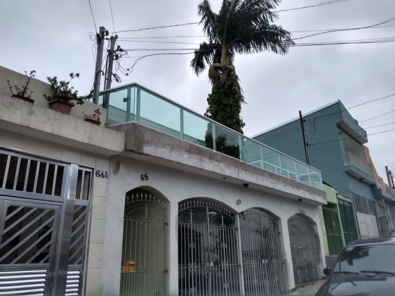 Esquadrias de Vidro Casa Verde - Esquadria Alumínio Branco