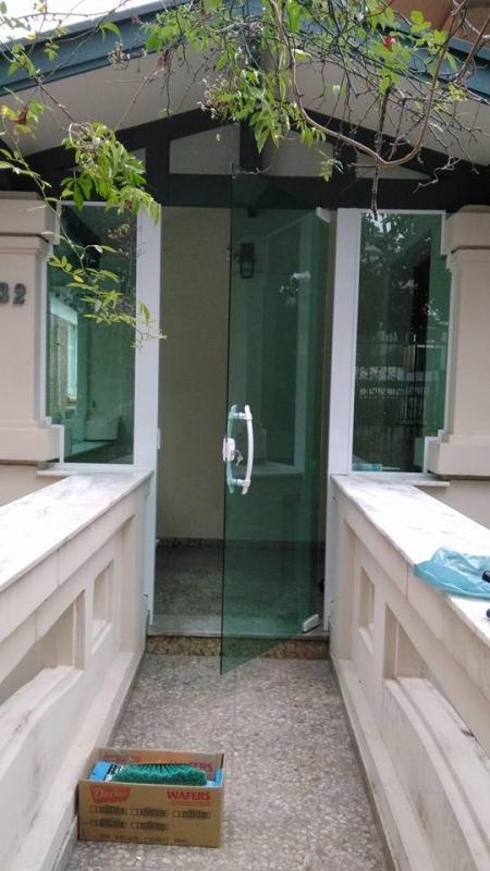Esquadrias em Vidro Vila Dila - Esquadria Alumínio Bronze