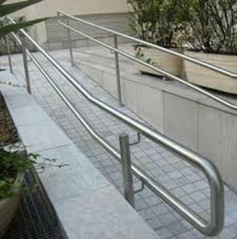 Orçamento Guarda Corpo Aço Inox Brás - Guarda Corpo de Vidro Escada
