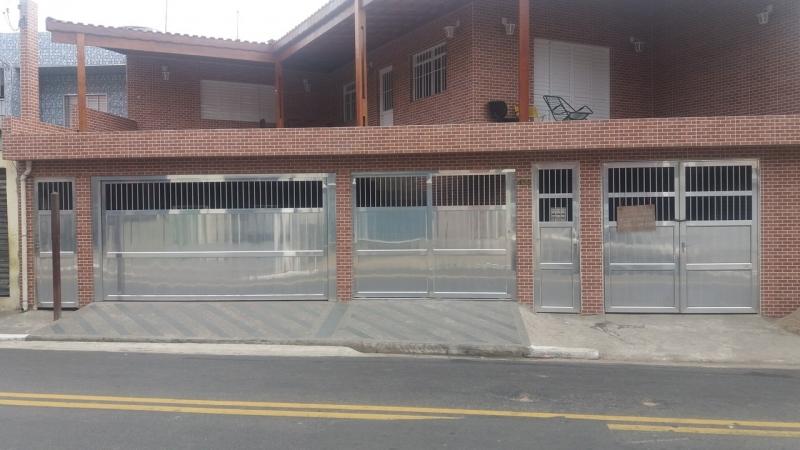 Portão de Alumínio Automático Vila Matilde - Portão de Alumínio com Motor
