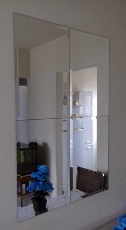 Preço de Espelho Bisotado Socorro - Espelho para Banheiro