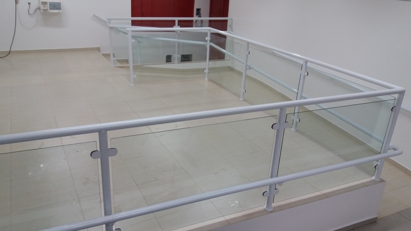 Quanto Custa Guarda Corpo de Vidro Escada Perdizes - Guarda Corpo Aço Inox