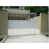 comprar portão de alumínio correr Cidade Jardim