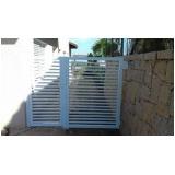 comprar portão de alumínio duas folhas Itapecerica da Serra