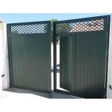 comprar portão de alumínio para garagem Mogi das Cruzes