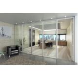 divisória de vidro acústica preço Alphaville