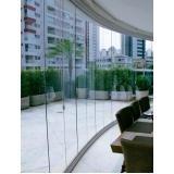 divisória de vidro escritório Vila Mazzei