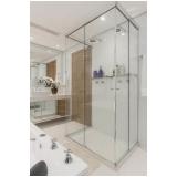 divisória de vidro para banheiro Perus