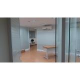 divisória de vidro para escritório preço Vila Maria