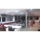 divisória de vidro para escritório Parque São Lucas