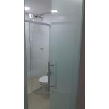 divisórias de vidro para banheiro Água Rasa