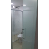 divisórias de vidro para banheiro Suzano