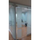 divisórias de vidro para escritório Jd São joão