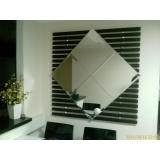 espelho bisotado Vila Dila