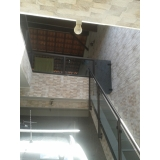 guarda corpo de vidro escada Parque Ibirapuera
