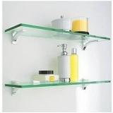 móveis de vidro para banheiro