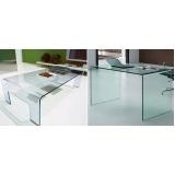 móveis de vidro temperado