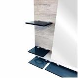 móveis de vidro para banheiro valor Embu das Artes