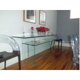 móveis de vidro para sala Perus