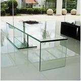 móveis de vidro temperado Vila Dila