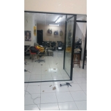 onde comprar divisória de vidro temperado Sacomã