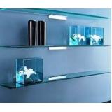 orçamento de móveis de vidro para quarto Pari