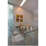 orçamento de móveis de vidro para sala Limão