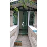 orçamento esquadria para vidro temperado Instituto da Previdência