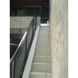 orçamento guarda corpo escada Jundiaí