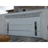 portão de alumínio basculante qual o preço de Vila Esperança