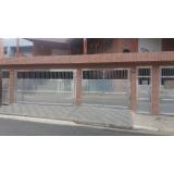 portão de alumínio de garagem Limão