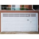 portão de alumínio para garagem qual o preço de Jardim Helian