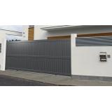 portão de alumínio para garagem valor Diadema