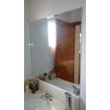 preço de espelho para banheiro Santo Amaro