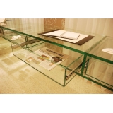 preço de móveis de vidro para escritório ABCD