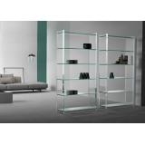 preço de móveis de vidro para quarto Jardins