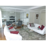 preço de móveis de vidro para sala Santa Isabel