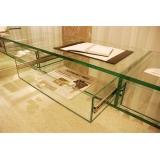 preço de móveis de vidro temperado Aricanduva