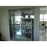 preço de móveis de vidro Serra da Cantareira