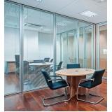 qual o valor de divisória de vidro com persiana interna Trianon Masp