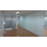 qual o valor de divisória de vidro escritório Butantã