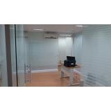 qual o valor de divisória de vidro para escritório Vila Maria