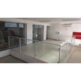 qual o valor de divisória de vidro temperado Serra da Cantareira
